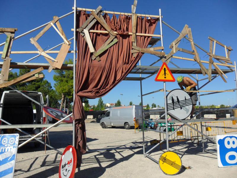 Katakrak a l'Espai El Zoolar de la Fira de Tàrrega: Una proposta conjunta amb la Cia. Itinerània i Cia. Tombs Creatius