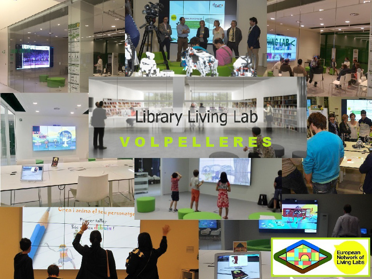 Library Living Lab de Sant Cugat del Valles
