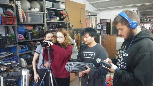 We are interviewed by Bau students (University Design Center - BCN)